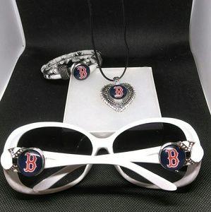 Accessories - Boston Red Sox's Sunglasses Set